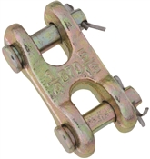 National Hardware 3248BC Series N282-129 Clevis Link, 1/4 x 5/16 in, 4700 lb Weight Capacity, Steel, Yellow Chrome