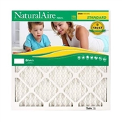Flanders 84858.012030 NaturalAire Standard Pleated Air Filter, 20 in L, 30 in W, 8 MERV