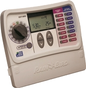 Rainbird Sst400In Simple To Set Irrigation Timer, 120 Vac Input/25.5 Vac Output, 1 Programs, 4 Zones, 7 In W