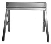 "29-1/2"" Foldable Galvanized Sawhorse"
