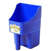 Blue Enclosed Feed Scoop, 3 Quart