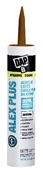 Alex Plus Acrylic Latex Caulk Plus Silicone Brown 10.1 Ounce
