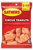 Circus Peanuts 2.5 oz