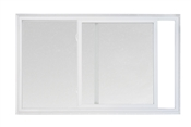 2020 Series 5700 Slider White 366 Low-e Obscure 1/1 Window