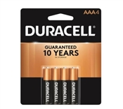 Duracell AAA Alkaline Battery, AAA, Manganese Dioxide, 1.5 V