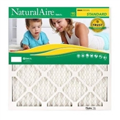 Flanders NaturalAire 84858.01203 Pleated Air Filter, 25 in L, 20 in W, 8 MERV
