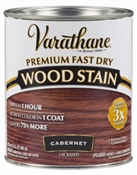 Varathane Fast Dry Cabernet Wood Stain Qt