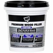 Dap Premium Wood Filler 3N1 Filler & Sealer 16Oz