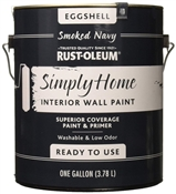 Simply Home Smoked Navy Interior Wall Paint