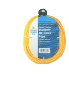 "1/4"" Twisted Yellow Poly Rope 100'"