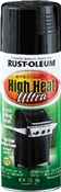 Spray Paint High Heat Ultra, Black, 12 Ounce