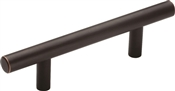 Amerock BP40515ORB Cabinet Pull, 5-3/8 in L x 1-3/8 in H Handle, Carbon Steel, Oil-Rubbed Bronze