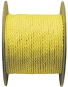 "5/8"" Twisted Yellow Poly Rope"