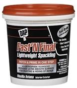 Fast 'N Final Spackling, 1/2 Pint