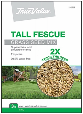 Tall Fescue Grass Seed Blend, 3 Lbs.