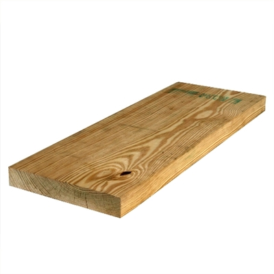 "2x10-8' (Actual: 1-1/2""x9-1/4"") #1 Ground Contact Treated Pine"