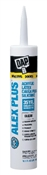 Alex Plus Acrylic Latex Caulk Plus Silicone, Clear, 10.1 Oz.