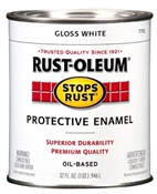 Stops Rust Protective Enamel Gloss White