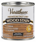Varathane Fast Dry Golden Mahogany Wood Stain Hp