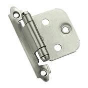 Amerock Inspirations BPR3429G10 Cabinet Hinge, Steel, Satin Nickel
