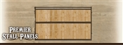10' Premier Horse Stall Panel - Solid Wood