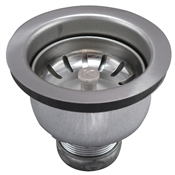 Stainless Steel Deep Cup Sink Strainer with Power Ball Basket