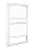 2040 5700 Low-E 366 Glass 1/1 White Single Hung Window