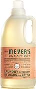 Clean Day 14731 Concentrated Laundry Detergent, 64 Oz, Bottle, Liquid, Geranium