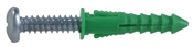 Ribbed Plastic Anchor 12-14-16With Pan Head Phillips Screw