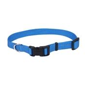"3/4"" Adjustable Blue Nylon Collar, 14""-20"""