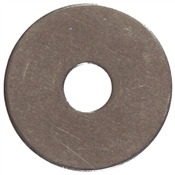 #6 Stainless Steel Finish Washer