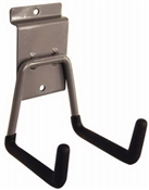 Duramount, Zinc Plated Steel, Short Arm Hook Tool Hanger