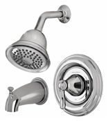 Single Handle Spray Tub & Shower Faucet, Chrome