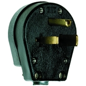 Black 30/50 Amp 125/250 Volt Dual Use Plug