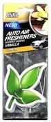 Auto Air Freshener Vanilla 3 Pk