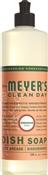 Mrs. Meyer'S Clean Day 13103 Biodegradable Liquid Dish Soap, 16 Oz, Geranium, Liquid