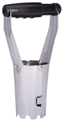 Landscapers Select GT8801 Bulb Planter, Adjustable Handle, Plastic Handle, 9 in OAL