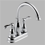 2 Handle Porter Lavatory Faucet, Chrome