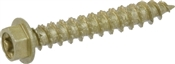 """Multi-Material Hex Exterior Screw, #10 x 1-1/4"""", 1lb Box"""