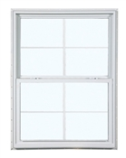 2030 300 Insulated Low-E Glass 4/4 White Single Hung Window