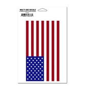 "4.5"" x 7"" American Flag Multi-Use Decal"