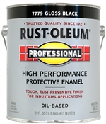 Professional High Performance Protective Enamel Gloss, Black
