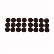 Prosource FE-50229-PS Furniture Pad, Felt Cloth, Brown