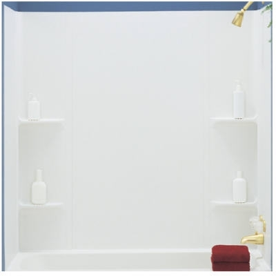 Vista 5 Piece Tub Surround - White