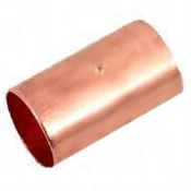 "1/2"" Copper Coupling with Stop"