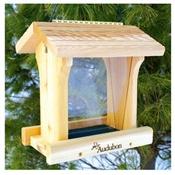 Audubon, 8.75 Hand Crafted Natural Inland Cedar Bird Feeder