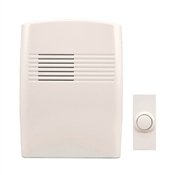 Heath Zenith SL-7753-02 Wireless Doorbell Kit, Ding, Ding-Dong, Westminster Tone, 75 dB