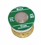 4 Pack 15 Amp Type TL Plug Fuse