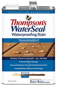 Waterproofing Stain, Acorn Brown, 1 Gallon