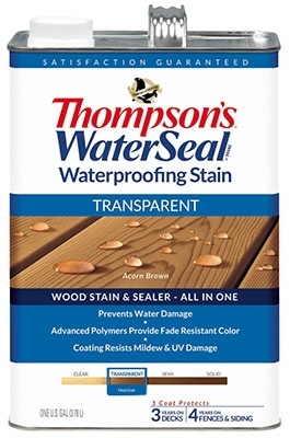 Shop Waterproofing Stain Acorn Brown 1 Gallon At Mccoy S